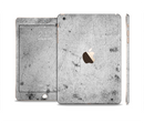 The Grungy Concrete Textured Surface Full Body Skin Set for the Apple iPad Mini 3