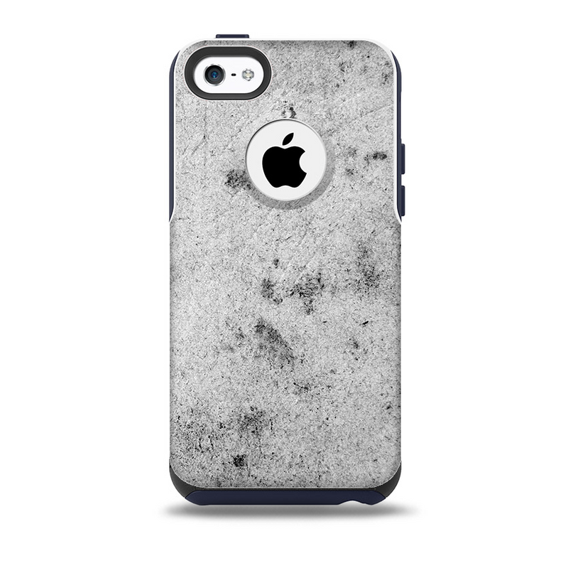 The Grungy Concrete Textured Surface Skin for the iPhone 5c OtterBox Commuter Case