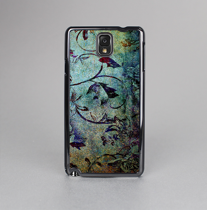 The Grungy Dark Black Branch Pattern Skin-Sert Case for the Samsung Galaxy Note 3