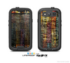 The Grungy Dark Small Tiled Skin For The Samsung Galaxy S3 LifeProof Case