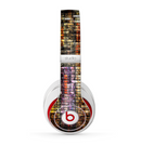 The Grungy Dark Small Tiled Skin for the Beats by Dre Studio (2013+ Version) Headphones