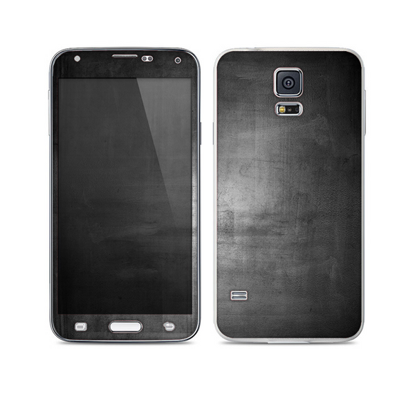 The Grungy Gray Panel Skin For the Samsung Galaxy S5