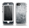 The Grungy Gray Textured Surface Skin for the iPhone 5-5s OtterBox Preserver WaterProof Case