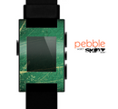 The Grungy Green Surface Design Skin for the Pebble SmartWatch