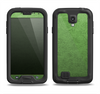 The Grungy Green Surface Samsung Galaxy S4 LifeProof Nuud Case Skin Set