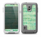 The Grungy Horizontal Green Lines Skin for the Samsung Galaxy S5 frē LifeProof Case