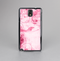 The Grungy Pink Painted Swirl Pattern Skin-Sert Case for the Samsung Galaxy Note 3