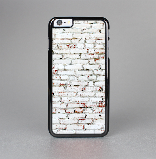 The Grungy Red & White Brick Wall Skin-Sert Case for the Apple iPhone 6 Plus