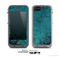 The Grungy Teal Surface Skin for the Apple iPhone 5c LifeProof Case
