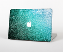 "The Grungy Teal Texture Skin Set for the Apple MacBook Pro 15"" with Retina Display"