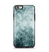 The Grungy Teal Wavy Abstract Surface Apple iPhone 6 Plus Otterbox Symmetry Case Skin Set