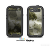 The Grungy Vivid Camouflage Skin For The Samsung Galaxy S3 LifeProof Case