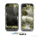 The Grungy Vivid Camouflage Skin for the Apple iPhone 5c LifeProof Case