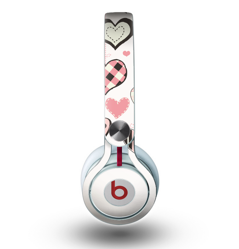 The Hanging Styled-Hearts Skin for the Beats by Dre Mixr Headphones