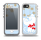 The Happy Winter Cartoon Cat Skin for the iPhone 5-5s OtterBox Preserver WaterProof Case