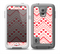 The Hearts and Dots Vector ZigZag Pattern Skin for the Samsung Galaxy S5 frē LifeProof Case