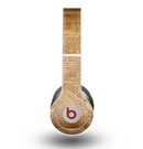 The Historical Word Overlay Skin for the Beats by Dre Original Solo-Solo HD Headphones