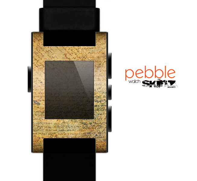 The History Word Overlay V2 Skin for the Pebble SmartWatch for the Pebble Watch