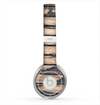 The Horizontal Peeled Dark Wood Skin for the Beats by Dre Solo 2 Headphones