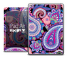 The Hot Colored Paisley Pattern Skin for the iPad Air
