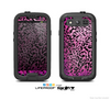The Hot Pink Cheetah Animal Print Skin For The Samsung Galaxy S3 LifeProof Case