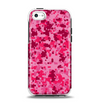The Hot Pink Digital Camouflage Apple iPhone 5c Otterbox Symmetry Case Skin Set