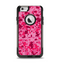 The Hot Pink Digital Camouflage Apple iPhone 6 Otterbox Commuter Case Skin Set