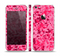 The Hot Pink Digital Camouflage Skin Set for the Apple iPhone 5