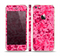 The Hot Pink Digital Camouflage Skin Set for the Apple iPhone 5s