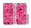 The Hot Pink Digital Camouflage Sectioned Skin Series for the Apple iPhone 6