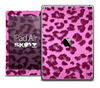 The Hot Pink Leopard Print Skin for the iPad Air