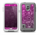 The Hot Pink Mercury Skin for the Samsung Galaxy S5 frē LifeProof Case