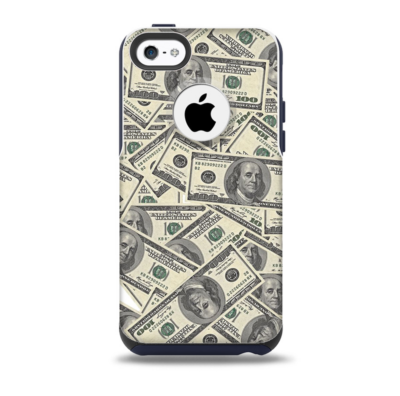 The Hundred Dollar Bill Skin for the iPhone 5c OtterBox Commuter Case