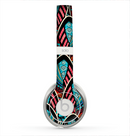 The Intense Colorful Peacock Feather Skin for the Beats by Dre Solo 2 Headphones