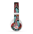 The Intense Colorful Peacock Feather Skin for the Beats by Dre Studio (2013+ Version) Headphones