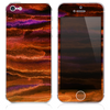 The Inverted Abstract Oil Painting Stroked Skin for the iPhone 3, 4-4s, 5-5s or 5c