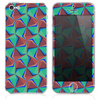The Inverted Abstract Warped Pattern Skin for the iPhone 3, 4-4s, 5-5s or 5c