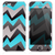 The Inverted Abstract Zig Zag Skin for the iPhone 3, 4-4s, 5-5s or 5c