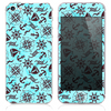 The Inverted Nautica Collage Skin for the iPhone 3, 4-4s, 5-5s or 5c