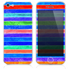 The Inverted Neon Wood Planks V7 Skin for the iPhone 3, 4-4s, 5-5s or 5c