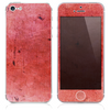 The Inverted Red Grunge Texture Skin for the iPhone 3, 4-4s, 5-5s or 5c
