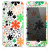 The Inverted Vector Flowers Skin for the iPhone 3, 4-4s, 5-5s or 5c
