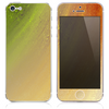 The Inverted Yellow Pastel Dust Skin for the iPhone 3, 4-4s, 5-5s or 5c