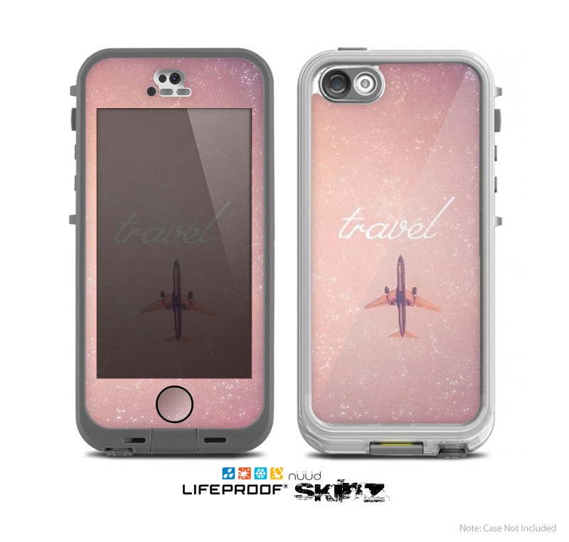 The Add-Your-Own-Image Custom Skin for the Apple iPhone 5 NUUD LifeProof Case for the Lifeproof Skin