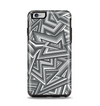 The Jagged Abstract Graytone Apple iPhone 6 Plus Otterbox Symmetry Case Skin Set