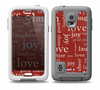 The Joy & Love WordCloud Wallpaper Skin for the Samsung Galaxy S5 frē LifeProof Case