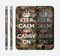 The Keep Calm & Carry On Camouflage Skin for the Apple iPhone 6