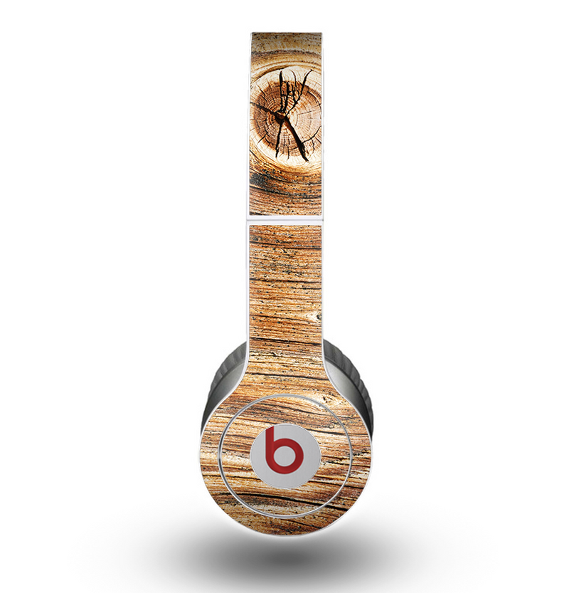 The Knobby Raw Wood Skin for the Beats by Dre Original Solo-Solo HD Headphones