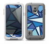 The Large Vector Shards of Blue Skin for the Samsung Galaxy S5 frē LifeProof Case