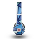 The Large Vector Shards of Blue Skin for the Beats by Dre Original Solo-Solo HD Headphones